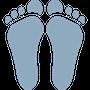 Custom Orthodic feet icon