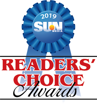 sun times readers choice award ribbon